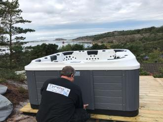 Nordby SPAbad Jacuzzi 2018 model