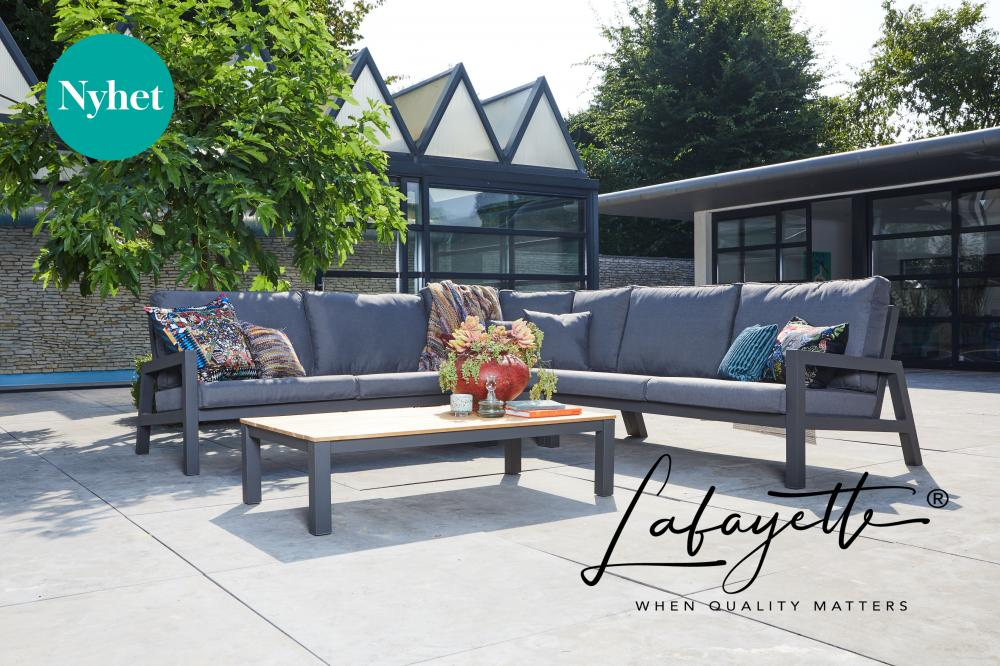 Lafayette Lago Block Lounge Cornersofa by Suns