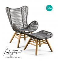 Lafayette Kreta Lounge chair by SUNS