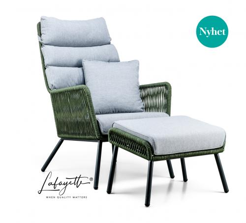 Lafayette Faros Go Green Lounge chair by SUNS